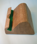 iPad mini, tablet or smartphone stand - GREEN lined